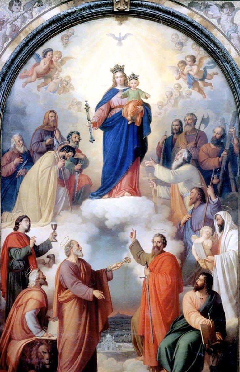 María Santísima, se nuestro auxilio. #MariaAuxiliadora 💙