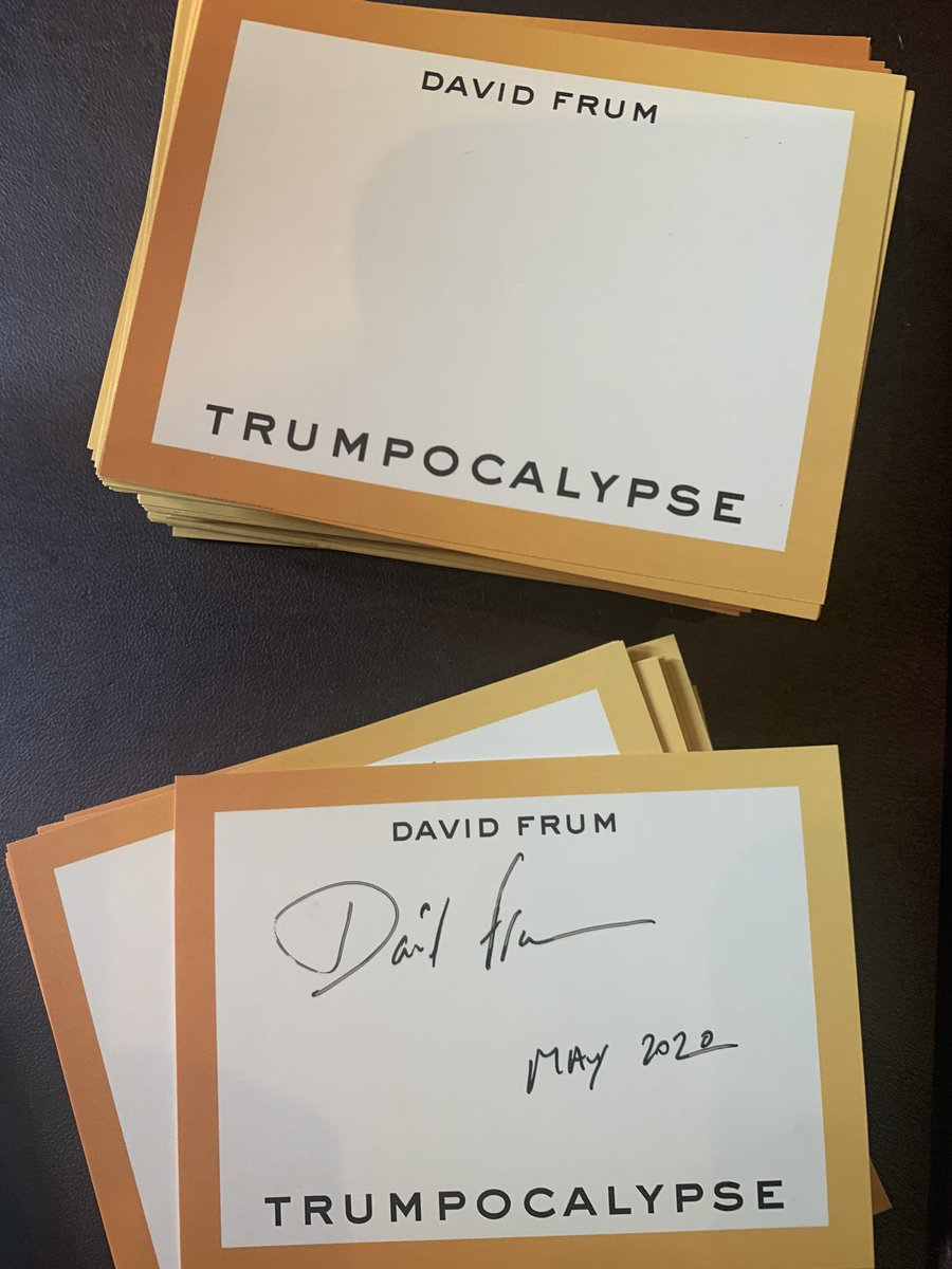 Signing book plates