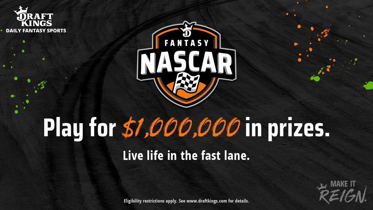 Play for $1,000,000 in prizes and take a victory lap of your own.  Play fantasy @NASCAR today: https://t.co/SMo6incKr5 https://t.co/Sr1OyT4Zcv