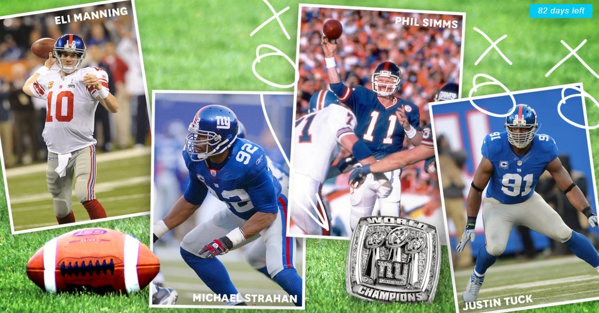 Play Football with the New York Giants in Your Backyard & Score a Super Bowl Ring! 👉https://t.co/LbWSmzPbst https://t.co/ZKf5gNVyHF