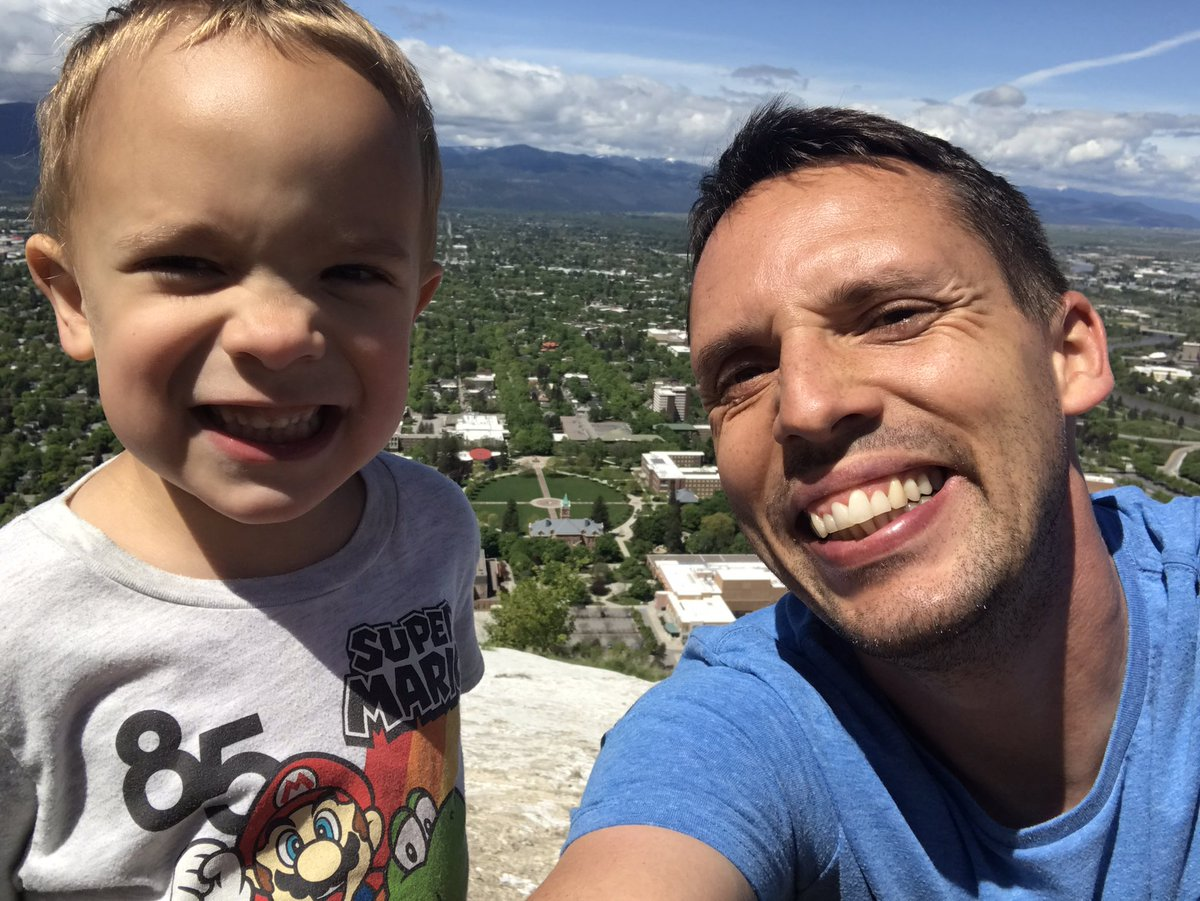 A little guy time this afternoon. Proud of the little man for making it up to the M! #FamilyTime pic.twitter.com/sFBA5VV5U3