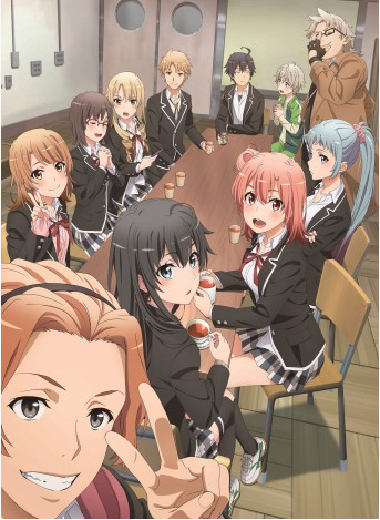 """My Teen Romantic Comedy SNAFU"" Anime 3rd Season Premieres July 9"