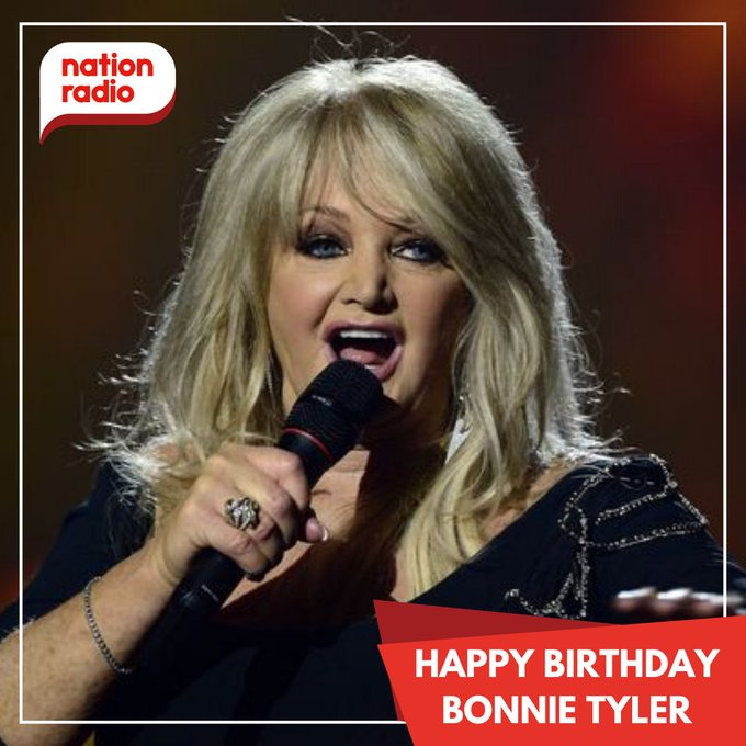 Happy 69th birthday to Bonnie Tyler!