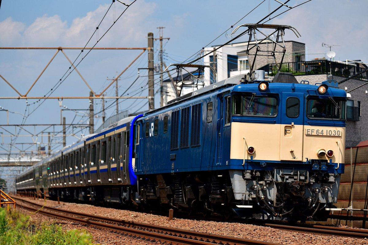 【横須賀線・総武快速の新車】E235系1000番台F-01が新津出場配給