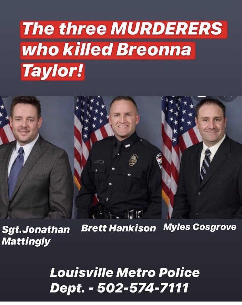 Replying to @desusnice: it's monday. arrest the cops who killed Breonna Taylor.  #JusticeforBreonnaTaylor #BlackLivesMatter