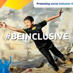 Image for the Tweet beginning: What does #BeInclusive mean to