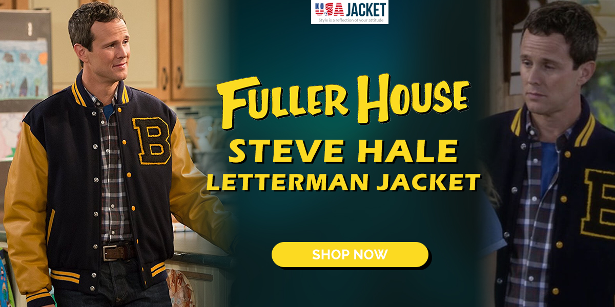 Usa Jacket On Twitter Shop The Steve Hale Fuller House Letterman Jacket Link Here Https T Co Wonkyewjjw Like Rt To Win Free Jacket Usajacket Newarrivals Newlooks Menswear Fullerhouse Tvseries Lettermanjacket Menswear Mensfashion