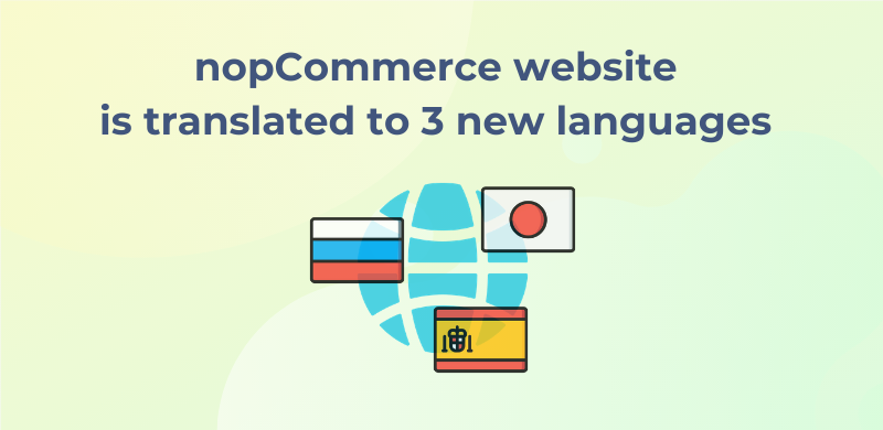 Thanks to our partners, our official website has already been translated into Spanish, Russian, and Japanese 🇪🇸 🇷🇺 🇯🇵  If you want to check the process of website localization at the moment, go to our project on Crowdin: https://t.co/5AEob7MjMz https://t.co/5109cZnMQ0
