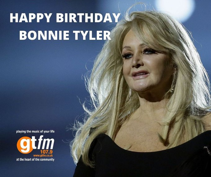 It\s Happy Birthday to another legend, Bonnie Tyler who\s 69 years old today!