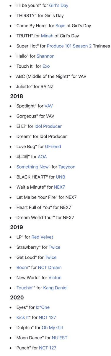 Ryan Jhun says he wants to produce a song for @loonatheworld!!! Here are just SOME of the songs he has added to his work 👀 @loonaStaff
