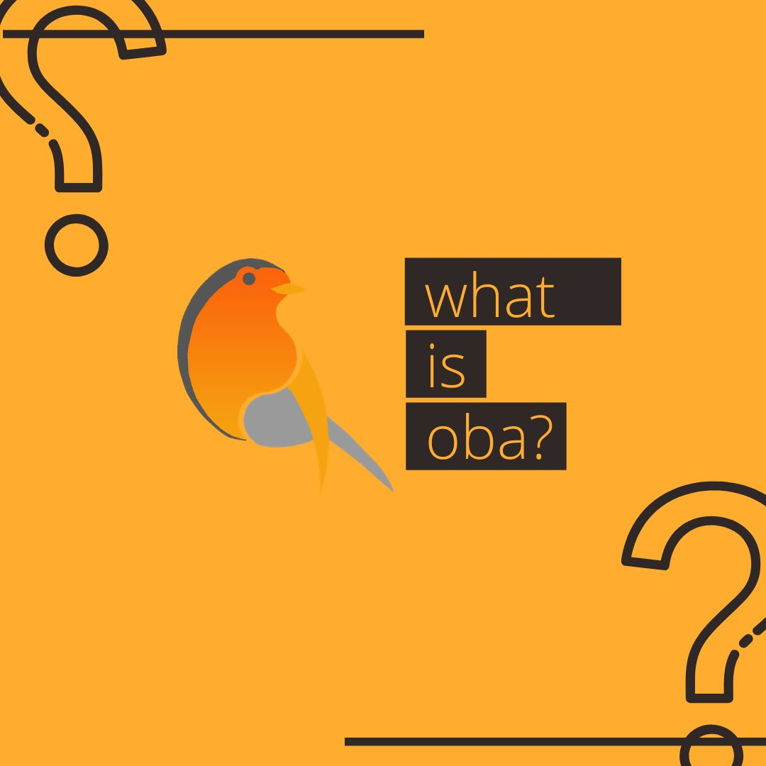 First time to hear about OBA? Follow this thread to know more about us! ⚡️
