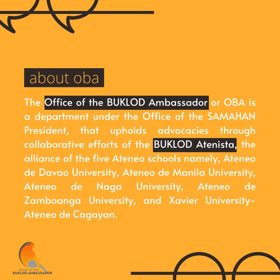 READ | About the Office of the BUKLOD Ambassador! ✨