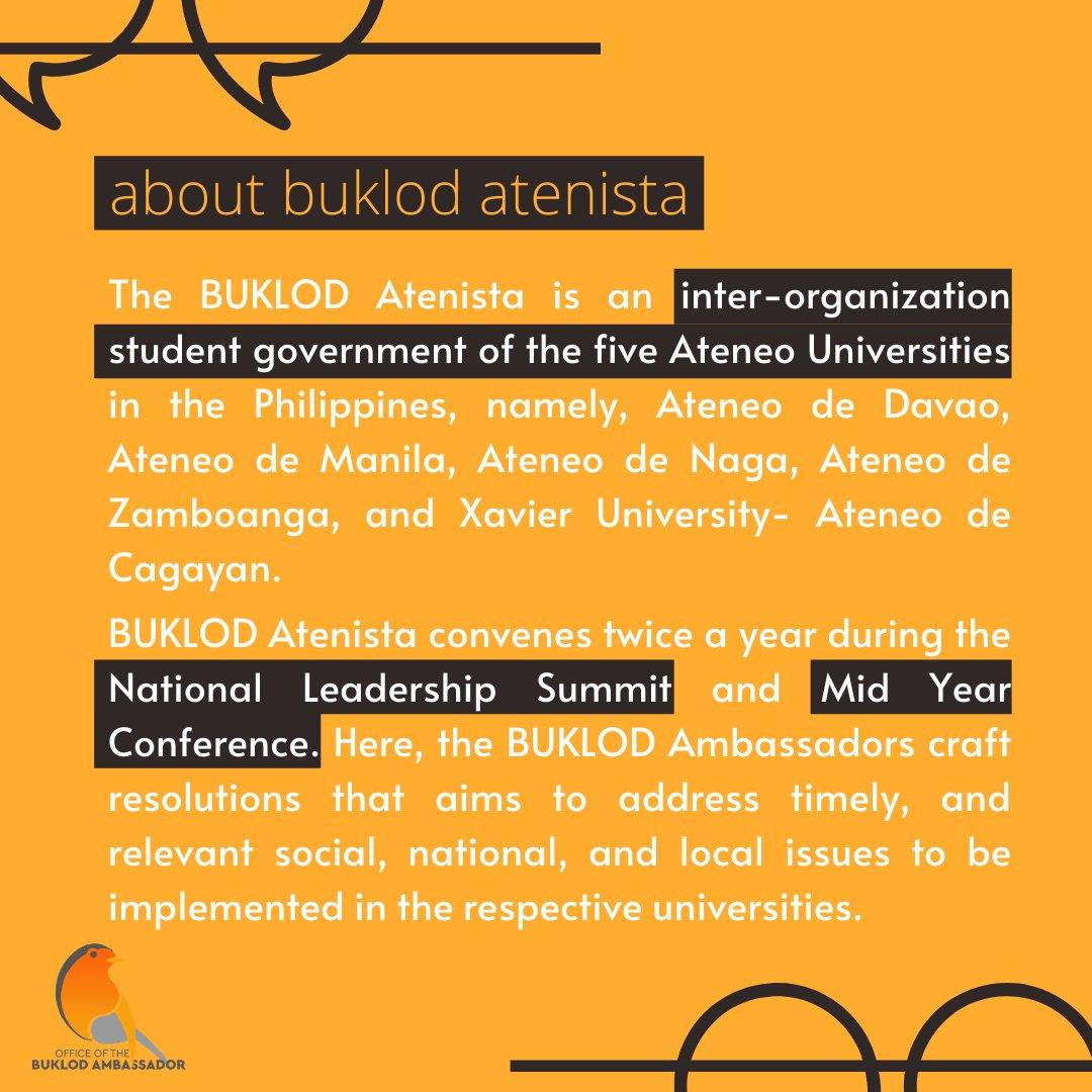 READ | About BUKLOD Atenista!