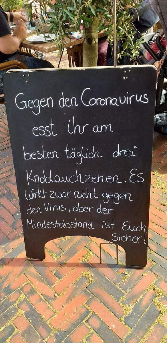 Can't argue with that German logic.