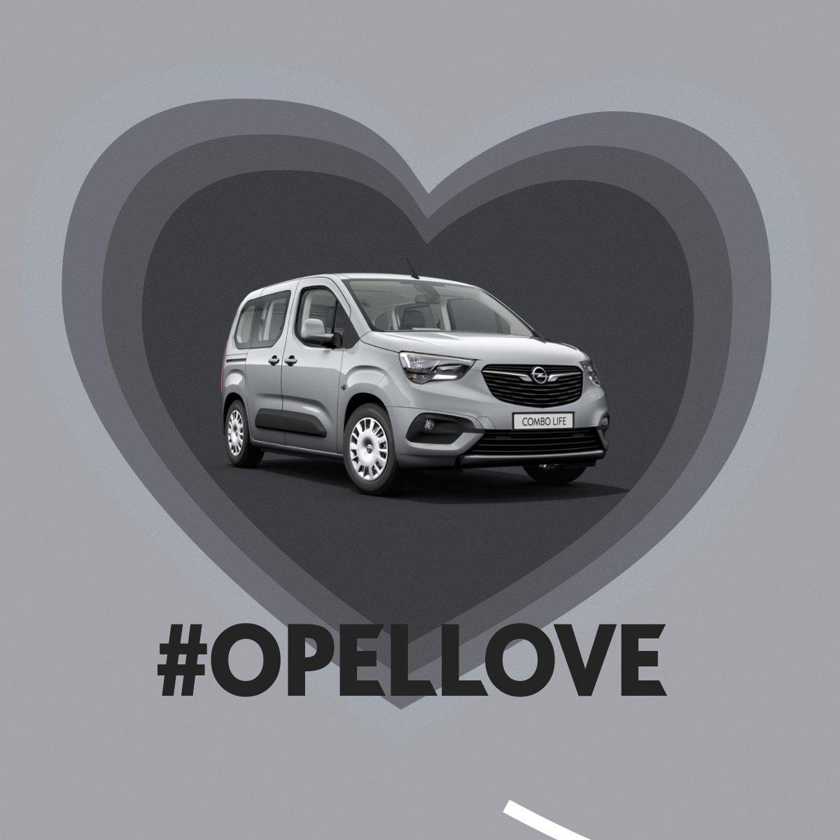 Herzliche Grüße vom #OpelCombo Life 💛 Hier konfigurieren: s.opel.com/l7v38 #OpelLove