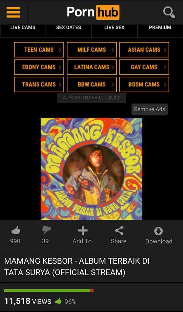 Mamang Kesbor kalo rilis album  Spotify Itunes  Joox  SoundCloud  PornHub pic.twitter.com/5BJpG5zEVy