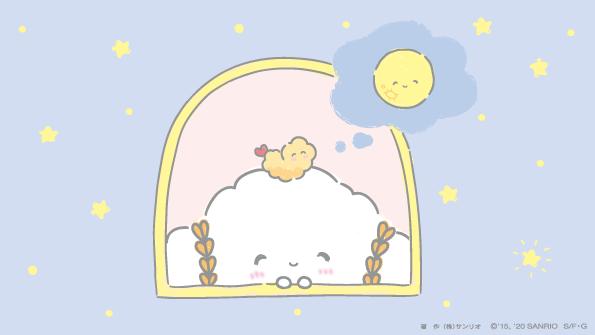まんまるお月さまみゅん・・☆ ケーキちゃんが「ストロベリームーン」っていってたみゅん・・♡ #ストロベリームーン #キャラ大目指せ15位 #満月 #こぎみゅん