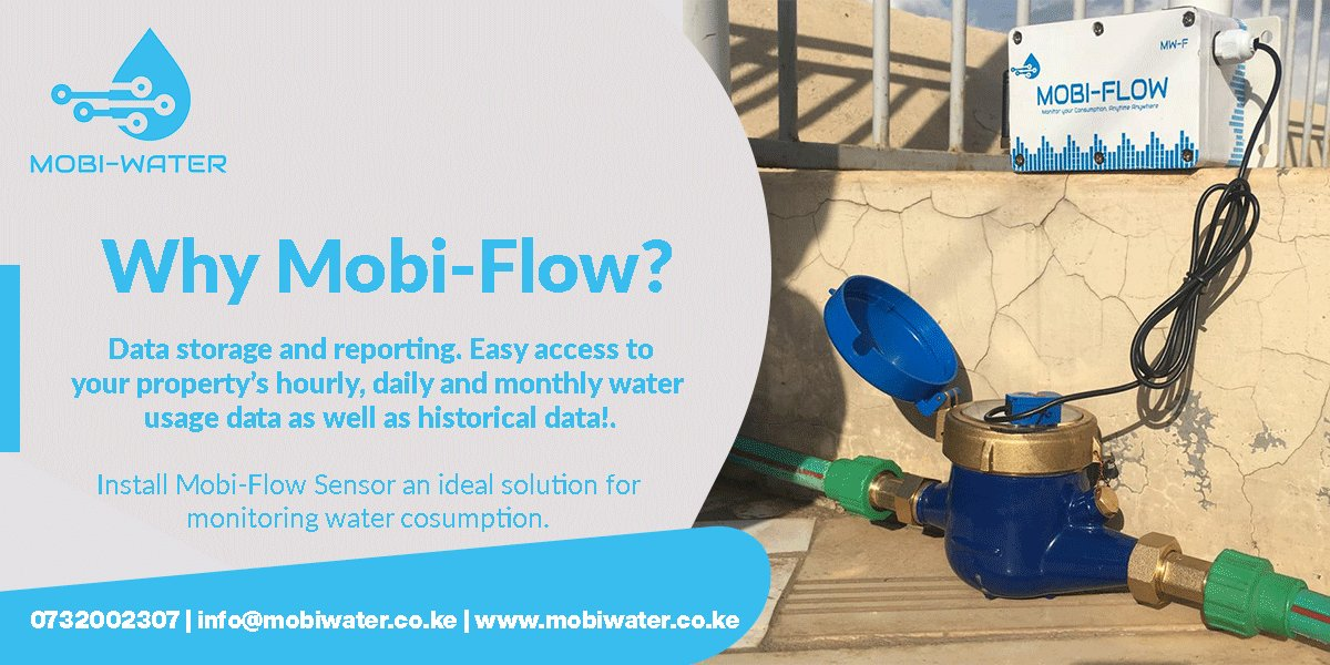 #MobiFlow smart meters offer numerous diverse benefits and this includes more monitoring #water consumption, accurate bills & better budgeting.  #MobiFlow is not just an ordinary meter. It introduces unique solution to calculate usage & meter readings automatically and remotely. pic.twitter.com/YwXyjohMpf