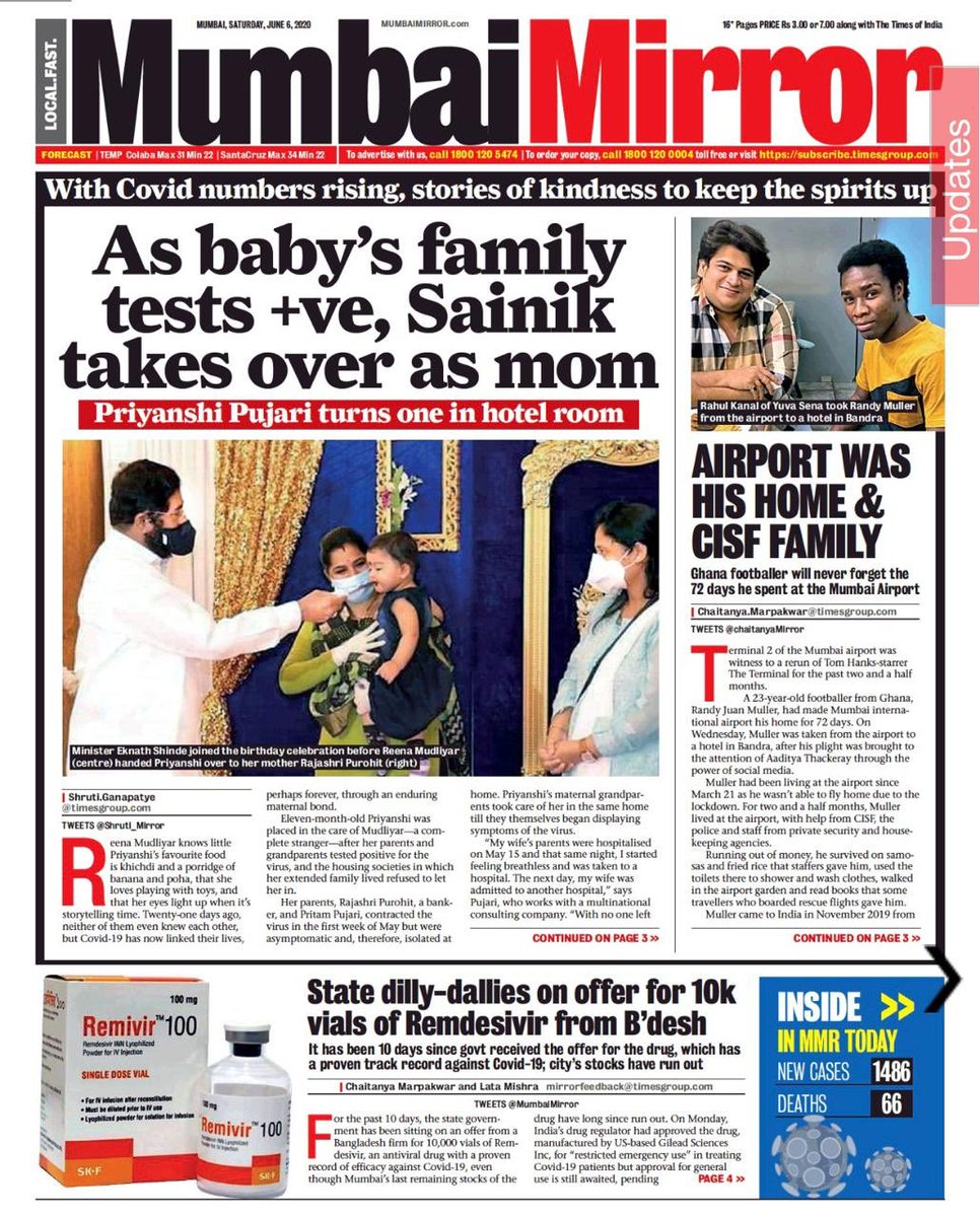 After 72 days of lockdown a young footballer from Ghana Randy Muller has safely sended to his respective place.. Thank You @AUThackeray Ji, @Iamrahulkanal Bhai for helping out young sportsman.. Thanks to @AbhaGoradia Ji @MumbaiMirror https://t.co/orJZY7878s https://t.co/nZODgusPtP