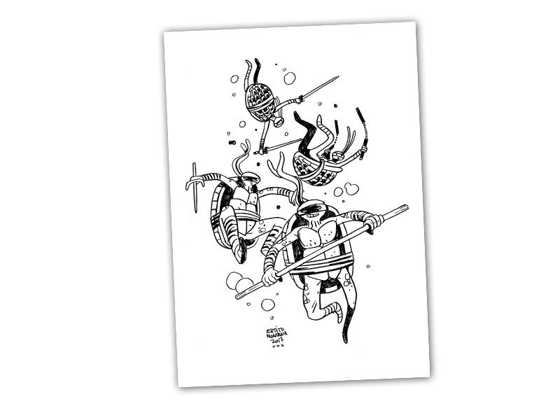 4 dias de sprint final!! Hoy con las TORTUGAS NINJA como recompensa para los mecenas de nuestro Crowdfounding de @Verkami ,participa y llévate a las mutantes a casa. Gracias #comics https://www.verkami.com/projects/26542-edicion-de-4-comics-de-la-serie-sicarios…pic.twitter.com/RcVBkmrBJL