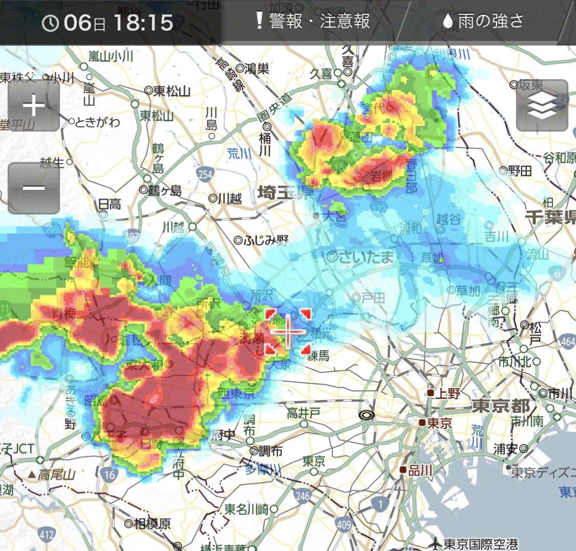 鴻巣 天気 雨雲 レーダー