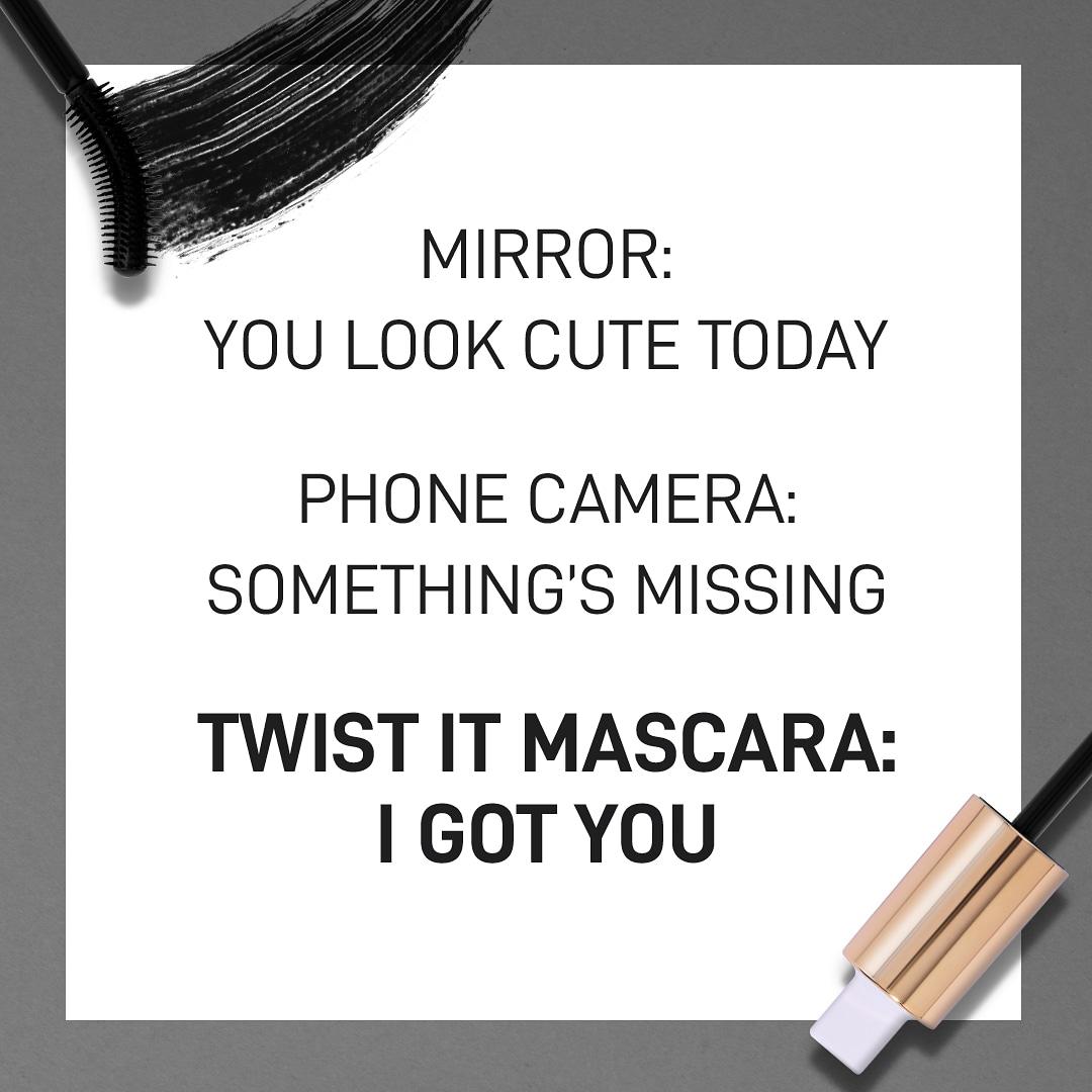A good mascara always has your back  . . . . . #MyGlamm #myglammCARES #TwistIt #Volume #Definition #New #NewLaunch #Mascara #Mascaras #Shopping #OnFleek #Beauty #BeautyTips #MakeupLovers #MakeupLooks #Saturday #MakeupTutorials #CrueltyFree #Vegan #Makeuppic.twitter.com/1pPcrw5lUN