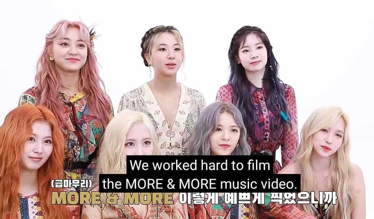 .@JYPETWICE themselves said that they worked so hard to film the MV! ONCEs lets do our best too to give great results to their hard work through YouTube stats, showing our appreciation! 🙏 Hope this can set as motivation to strive & stream harder. youtu.be/mH0_XpSHkZo