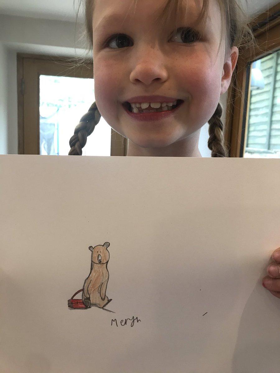 @PuffinBooks @katiecleminson @PuffinBooks @katiecleminson Otto by Meryn aged 7