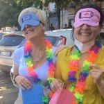 Image for the Tweet beginning: Thelma&Louise pronte per il viaggio:
