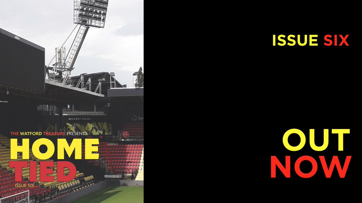 FRESH THIS MORNING:  The latest issue of our FREE online #watfordfc magazine.  Best viewed on PC or tablet here:   https://t.co/Ga7xKg9foE https://t.co/HBXQGJAgqJ