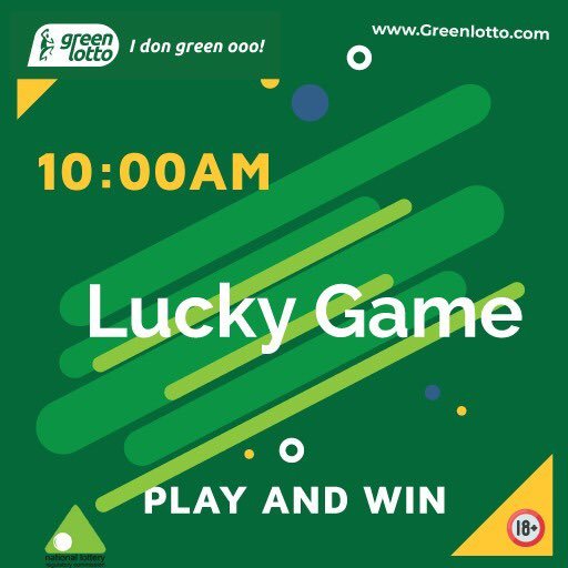 LUCKY GAME  10 AM 06/06/2020  WINNING NUMBERS- 83-41-46-31-27 MACHINE NUMBERS- 24-28-63-89-40  Play online NOW at https://t.co/eyjn0JNYOL  #greenlotto #winbig #lottery #fastmoney https://t.co/seKPc8SUfa