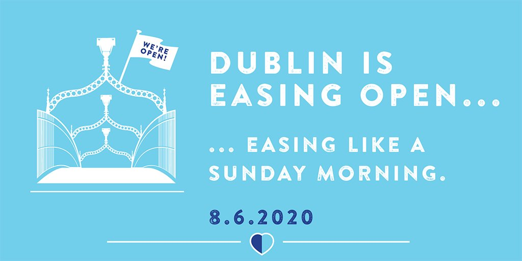 Dublin is easing open this Monday and we're ready to welcome you back! 😍 Our businesses might look a little different; act a little different but they're they are the same that you've always loved!  Visit https://t.co/ackwjkkQJr for more info about coming back. See ya soon! https://t.co/isVTbgosXX
