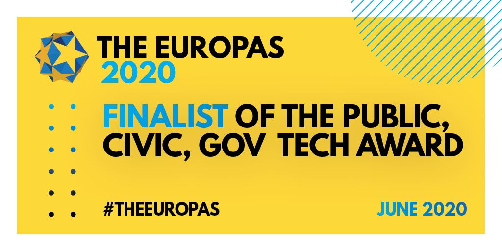 We are thrilled to be shortlisted for the upcoming The Europas Awards 2020! Thank you to all those who took the time to vote for us. Now, just another pitch to conquer on June 11th, 3pm BST. #RegTechNow #Startup #Award #EuropasAwardspic.twitter.com/6ZjkrFKDdw