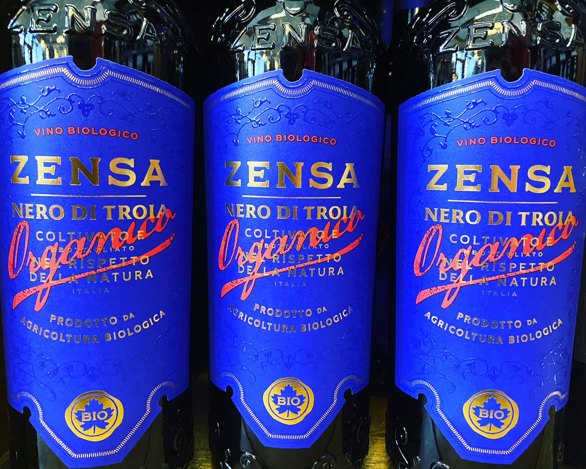 BREAKING NEWS!! Zensa Nero di Troia is back in town. It's elegant, it's fruity, it's spicy, it's organic AND it's delicious!! Last time we had this wine it sold out in a flash so get in quick. #wineweekend #redwine #organic #glasgowwestend #shoplocal @Orion_Wines @oddbinspic.twitter.com/v8fCe29kkv