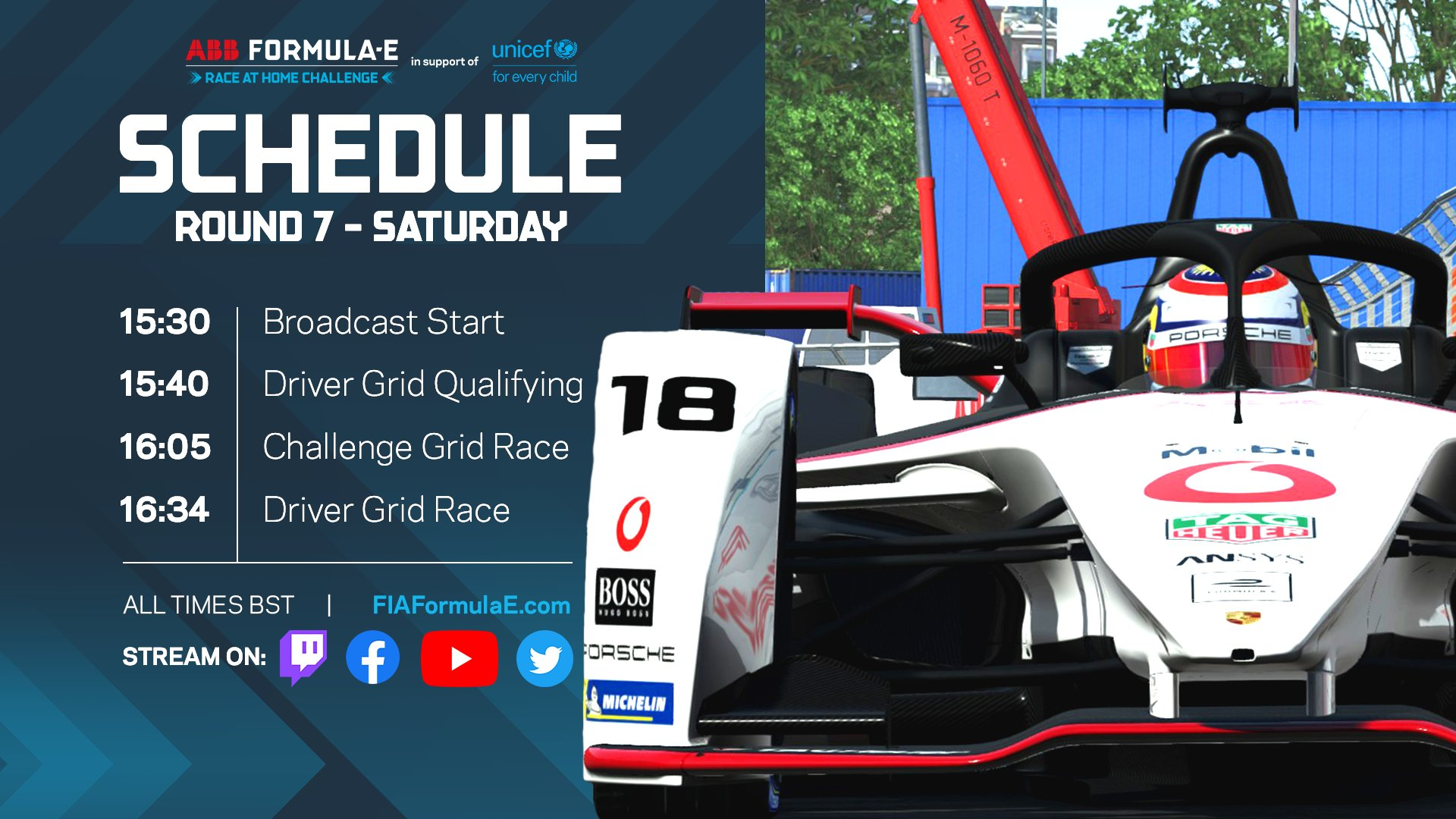 New York ePrix: Round 7 Race stream
