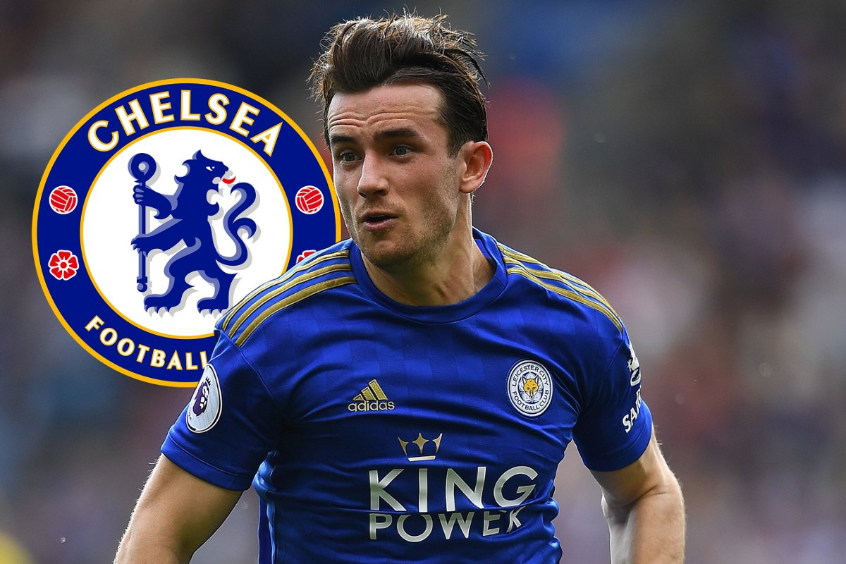 Chilwell reacts after joining Chelsea