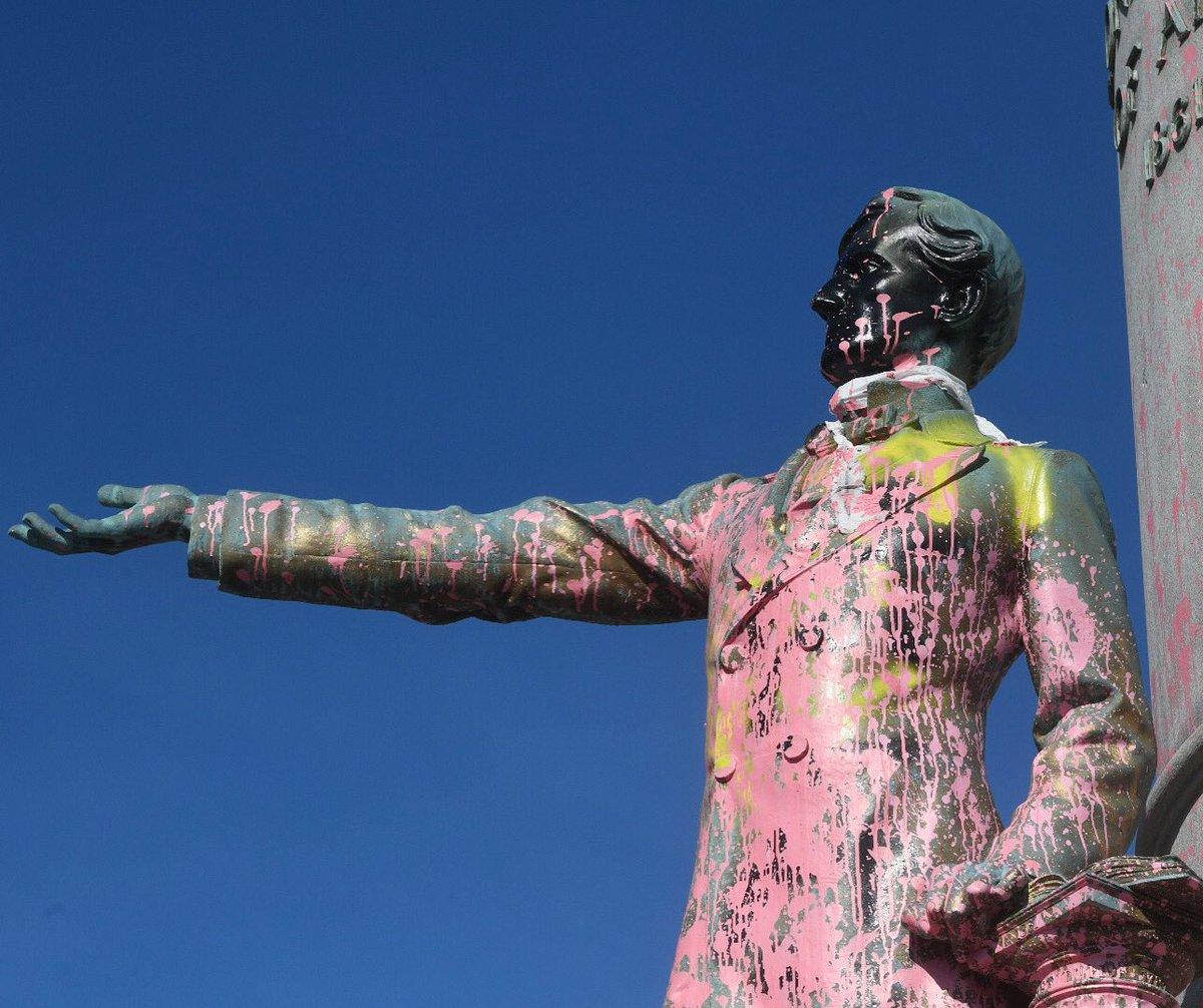 Jefferson Davis Monument. 6/6/20. Photo by Scott Elmquist.