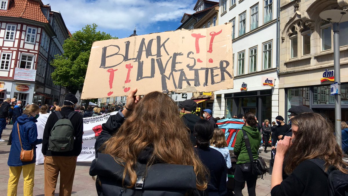 #BlackLivesMatterGermany