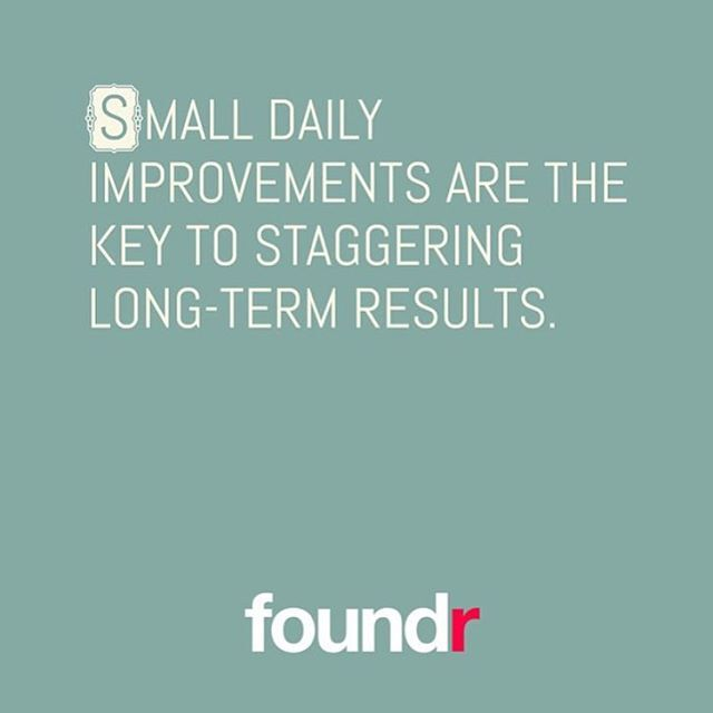 Small daily improvements... #entrepreneur #startup pic.twitter.com/HYzlx5mB04