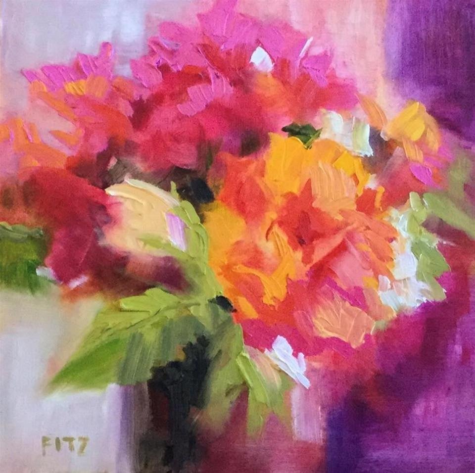 'Warm and Cool Contrasts' by Charlotte Fitzgerald #art pic.twitter.com/QUHOifQY9q