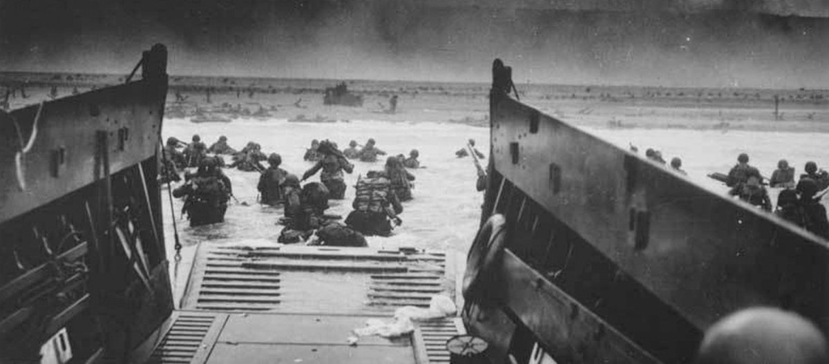 On this day, we remember when WWII Allies gained victory in the battle of Normandy, also known as the D-Day Invasion. Learn more about this historic day.  https://t.co/hIdS5bUV4p https://t.co/6tmyWD0NXF