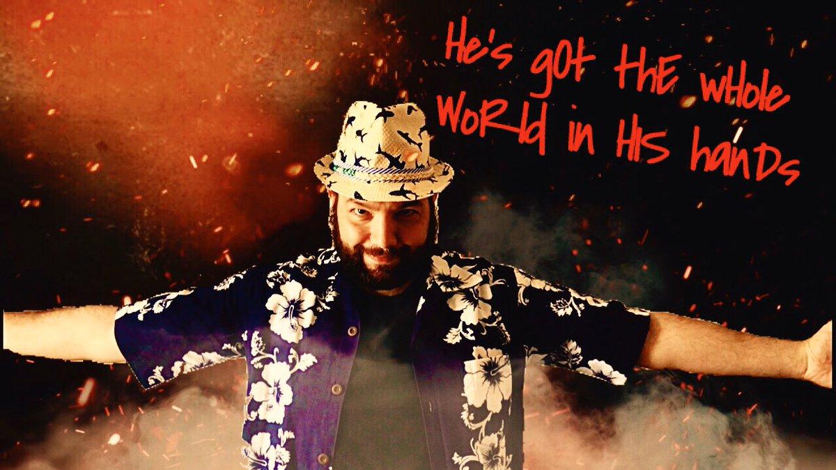 So @GarthaMania was obviously bored today...  #HesGotTheWholeWorldinHisHands @WWEBrayWyatt #BrayWyatt https://t.co/CajRDBwKB0