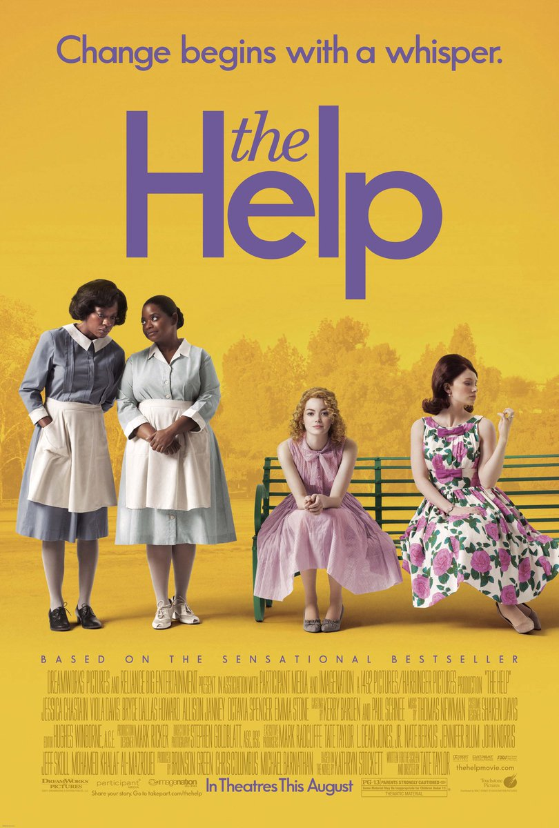 'The Help' (2011) became the most-viewed movie on Netflix this week amid Black Lives Matter protests. https://t.co/EnzKbjqKBn