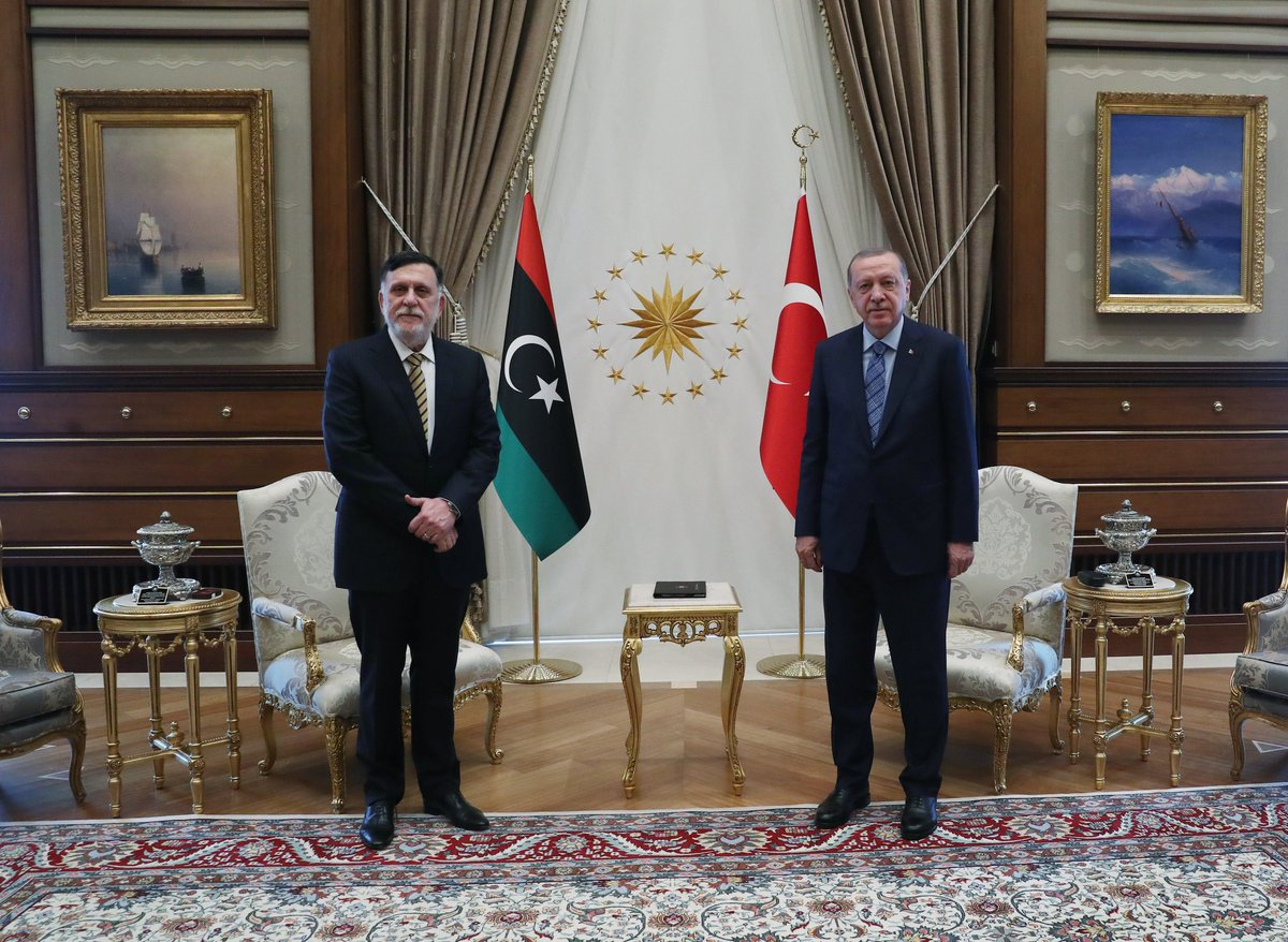 Саррадж и Эрдоган.