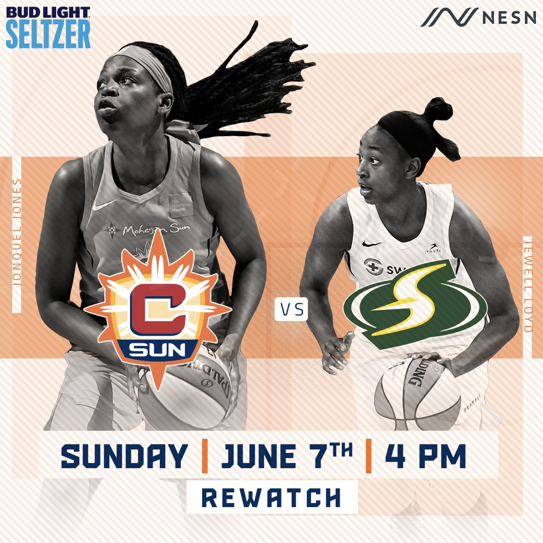 Join us on Sunday on NESN for #WNBARewatch. https://t.co/UNmkJ9mB0O