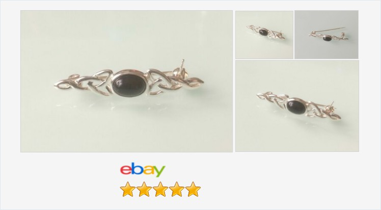 Brand New 925 Sterling Silver Celtic and Black Onyx Brooch and Tie Pin | eBay #sterlingsilver #celtic #black #onyx #brooch #tiepin #handmade #jewellery #gifts #suits #ties #scarves #giftsforher #giftsforhim #jewelry #accessories #fashion #giftshop #ebay https://www.ebay.co.uk/itm/312973870208…pic.twitter.com/AYiimlQrH5