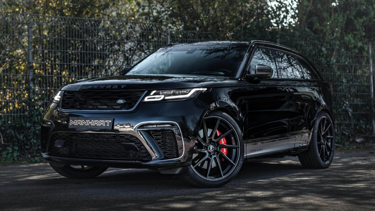 This Manhart-tuned Velar SVAD has 592bhp and 553lb ft. German tuner takes the Velar beyond Range Rover Sport SVR levels of power → https://t.co/yccVdBNF6W https://t.co/BLCv1vJ83c