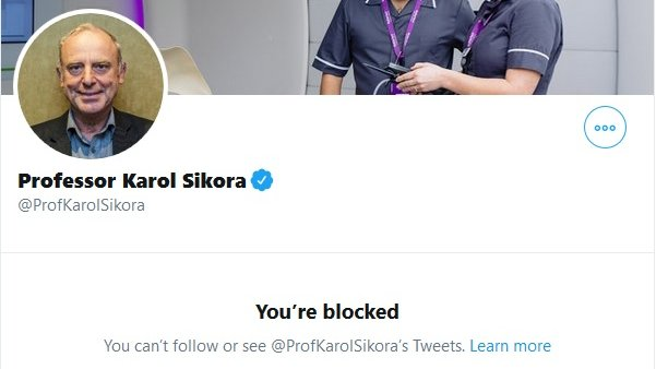 Twitter's great for 'firsts'.  For instance, today was the first time someone blocked me because I replied to them with a link to an interview *they* gave, and reminded them of when they gave the interview and what they said in it...  I assume I'm not alone though. https://t.co/2l7mcMnSc2