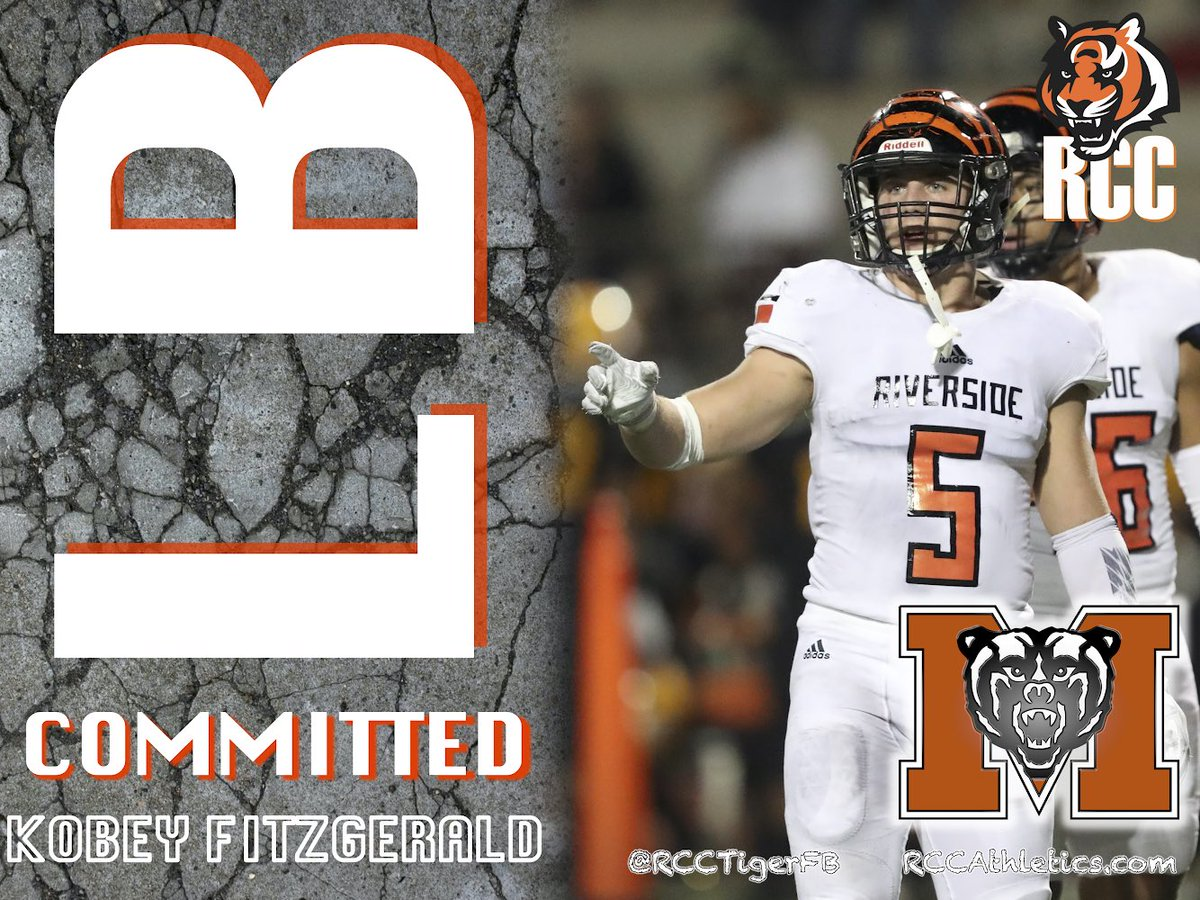 RCC Tiger Team Captain, Kobey Fitzgerald, will bring his leadership, work ethic and passion to Macon, GA. Kobey signs with Mercer Univ 💪🏽💪🏽🐅🐅🐻🐻💯💯 #NationalChamps #DefensivePOY @FitzgeraldKobey @RCCTigerFB @RccPen @IanFieber @jayhowwie @coachmikerichey @Tezz41NBCSports https://t.co/ANnVurQUhr