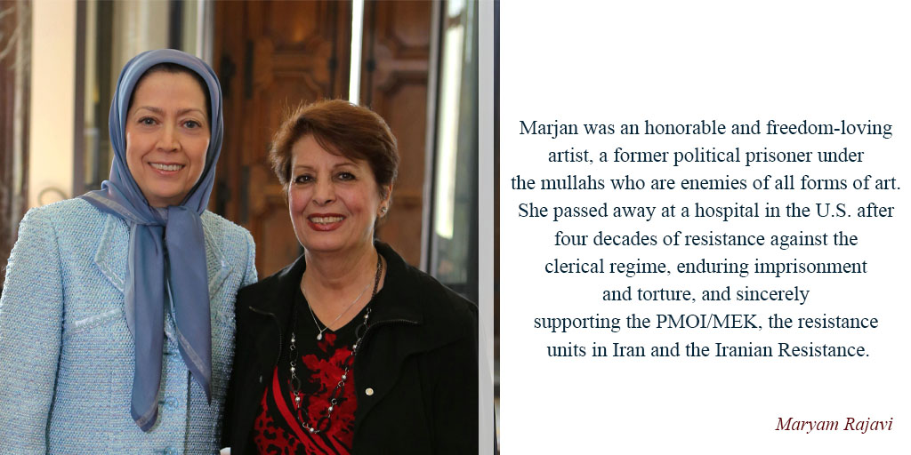 Hail to #Marjan, voice of Iran's women defying the backward ruling regime in #Iran #FreeIran